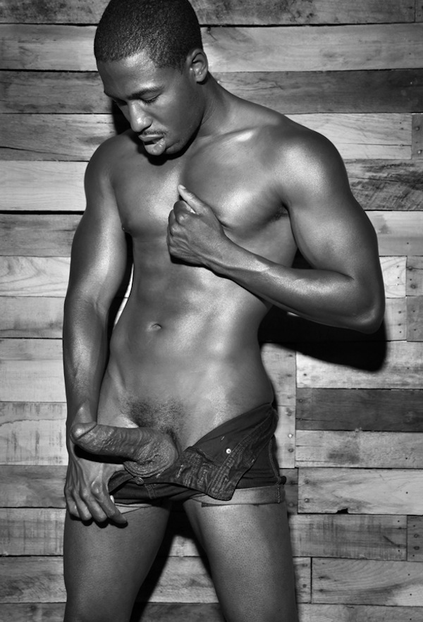 Sexy naked black men