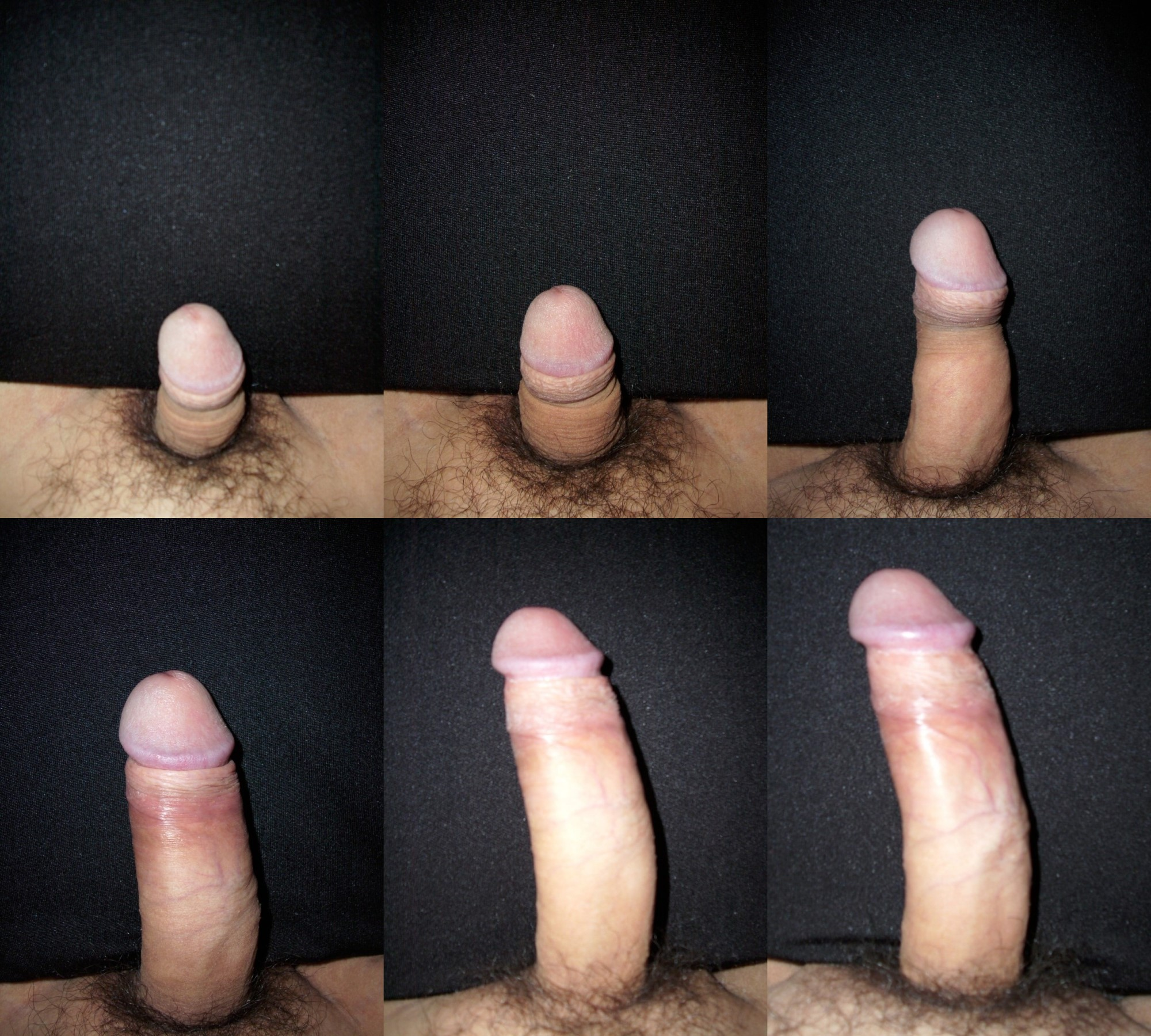 Growing a big dick